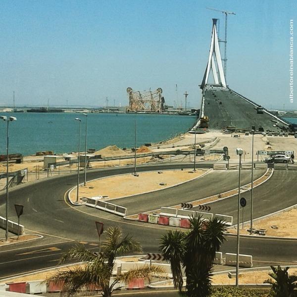 02/07/2015. Construcción del segundo puente de acceso a Cádiz
