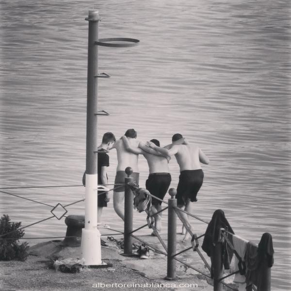 2015-04-11 Baño en el Guadalete. El Puerto de Santa María (Cádiz)