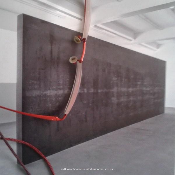 """2015-07-14 """"Fernando Pessoa"""" Richard Serra (2007-8)...y una parte de mí."""