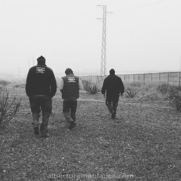 ¡Al tajo! Villafranca de los Barros (Badajoz) 2016-01-27