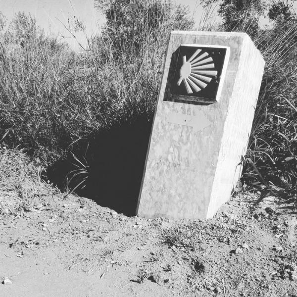 Camino de santiago, vía de la plata. Villafranca de los barros (badajoz) 2016-02-16