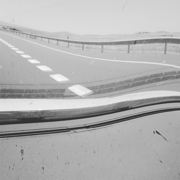la carretera. Vía de la Plata. Badajoz. 2016-06-22