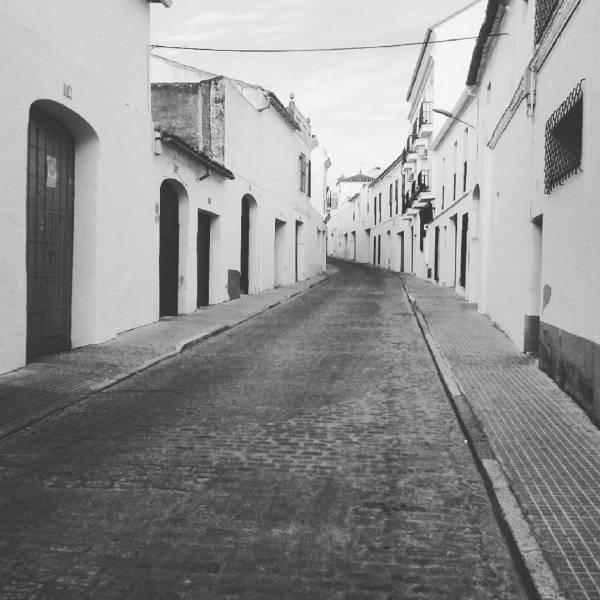 Calle abajo. Villafranca de los barros (badajoz) 2016-09-26