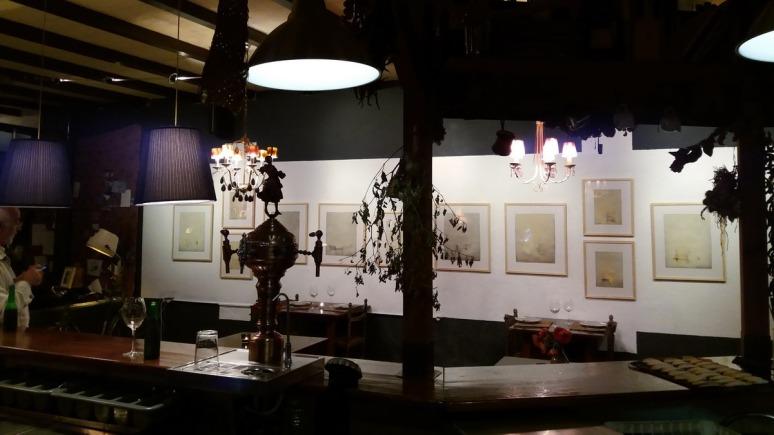 exposición Alberto Reina Restaurante El Arriate